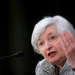 FEDERAL RESERVE Chair Janet Yellen and her colleagues have been watching for more labor-market improvement and signs that inflation is rising toward their goal, despite headwinds from overseas, as they debate the first rate increase since 2006. / BLOOMBERG NEWS PHOTO/ANDREW HARRER