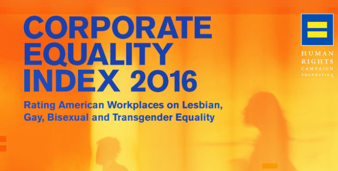 BLUE CROSS & Blue Shield of Rhode Island and CVS Health Corp. were the only Rhode Island companies to receive perfect scores on the Corporate Equality Index.
