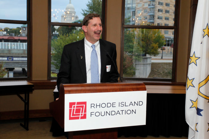 THE RHODE ISLAND FOUNDATION has awarded $2.7 million in grants from its Fund for a Healthy Rhode Island to improve the quality and affordability of health care in Rhode Island. Pictured is Rhode Island Foundation President & CEO Neil D. Steinberg. / COURTESY STEW MILNE