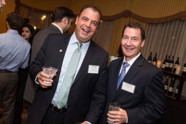 Chris Santilli, Roger Williams University, Dean Bushey, Tufts Health Plan / Rupert Whiteley