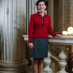 The first woman to be Rhode Island's governor, Gina M. Raimondo brings an investor's perspective to the job, thanks to co-founding Point Judith Capital nearly 15 years ago. But it may be gender equality issues that more deeply inform her approach to work. / PBN PHOTO/RUPERT WHITELEY
