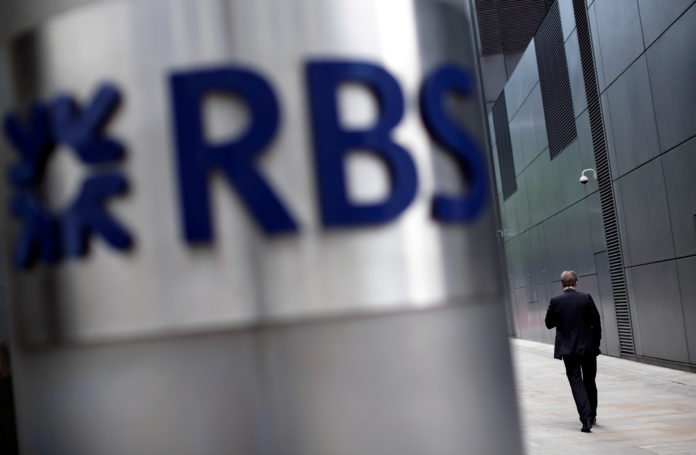FOR THE NINTH CONSECUTIVE YEAR, Royal Bank of Scotland is looking at a full-year loss, undermining hopes that the bank might pay a dividend to shareholders. / BLOOMBERG NEWS FILE PHOTO/MATTHEW LLOYD