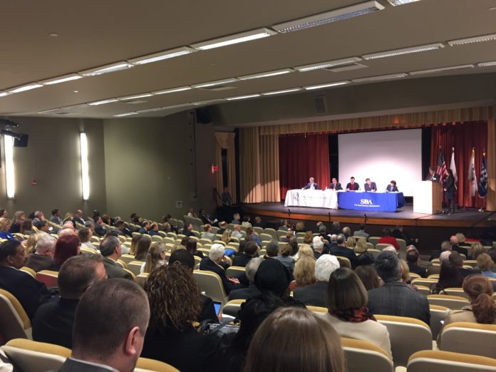 THE NINTH annual Small Business Economic Summit was held Friday at Bryant University in Smithfield. / PBN PHOTO/ELI SHERMAN