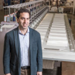 George Matouk Jr. took over the linen manufacturer founded by his grandfather in 2002 and has transformed it from a midlevel company to one in the super-luxury tier. The change has required deep employee engagement to implement. / PBN PHOTO/MICHAEL SALERNO