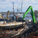 SOLD FOR SCRAPS: Promet Marine Service is now home to a scrap-metal yard after being purchased by an international scrap-metal recycler. / PBN PHOTO/FRANK MULLIN