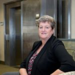 Ellen Ford is a homegrown Rhode Island success story. A Newport native, she graduated from the University of Rhode Island and advanced from teller to the top job at Middletown-based People's Credit Union. / PBN PHOTO/KATE WHITNEY LUCEY