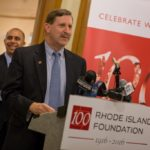 NEIL D. STEINBERG, Rhode Island Foundation president, announced Wednesday that 43 projects in all 39 cities and towns will share $500,000 in Centennial Community grants funding. / COURTESY RHODE ISLAND FOUNDATION