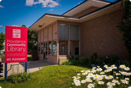 The Providence Community Library will hold its 2016 Amnesty Week from April 11 to 16, during which time patrons can return overdue items and donate nonperishable food items in lieu of paying fines. / PROVIDENCE COMMUNITY LIBRARY