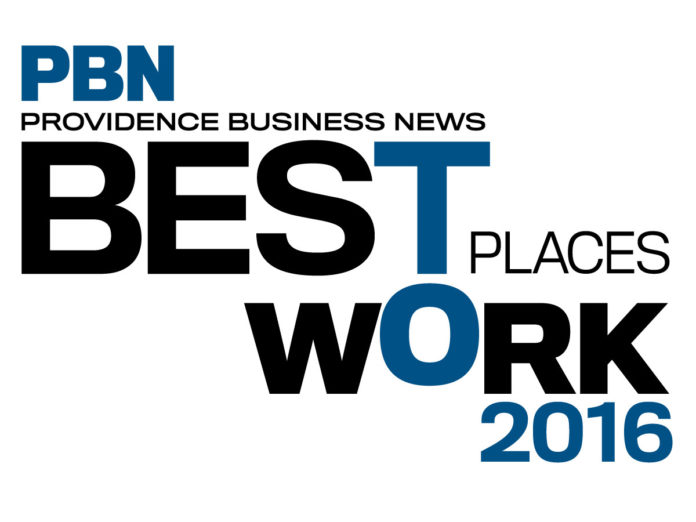 PROVIDENCE BUSINESS NEWS has announced the awardees in the 2016 Best Places To Work competition.