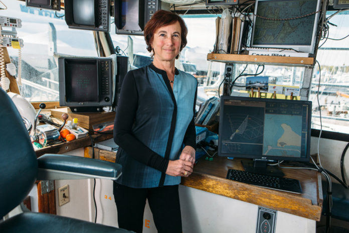 Cheryl M. Zimmerman was a founding director and adviser to FarSounder from its inception. A year into the company's growth she came on full time to get the technology commercialized and into the global market. / PBN PHOTO/RUPERT WHITELEY