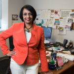 PURPOSEFUL SUCCESS: Shantha Diaz, chief operating officer of Neighborhood Health Plan of Rhode Island, has taken an approach to solving challenges that has helped the health insurer succeed despite more than doubling its member count in the last four years. / PBN PHOTO/RUPERT WHITELEY
