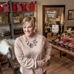 SUCCESS BREWING: Stephanie Additon, owner of Java Skincare, is seen in her store at 14 Main St. in North Kingstown. Additon's showroom has an eclectic assortment of items for sale. / PBN FILE PHOTO/MICHAEL SALERNO