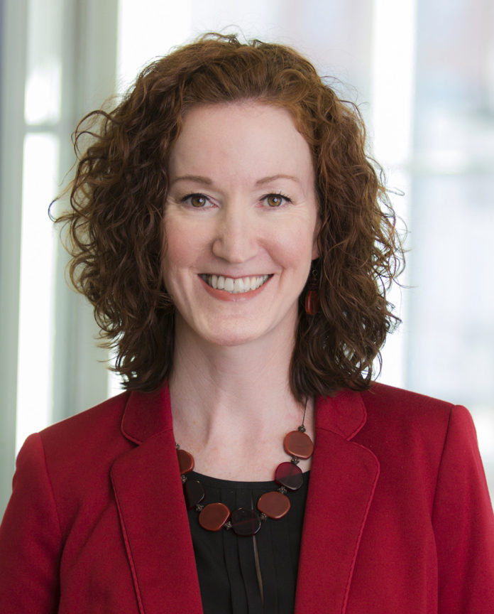 Melissa Cummings, senior vice president and chief customer officer for Blue Cross & Blue Shield of Rhode Island, was named 2017 American Heart Association Go Red For Women Luncheon chair. / COURTESY BLUE CROSS & BLUE SHIELD OF RHODE ISLAND