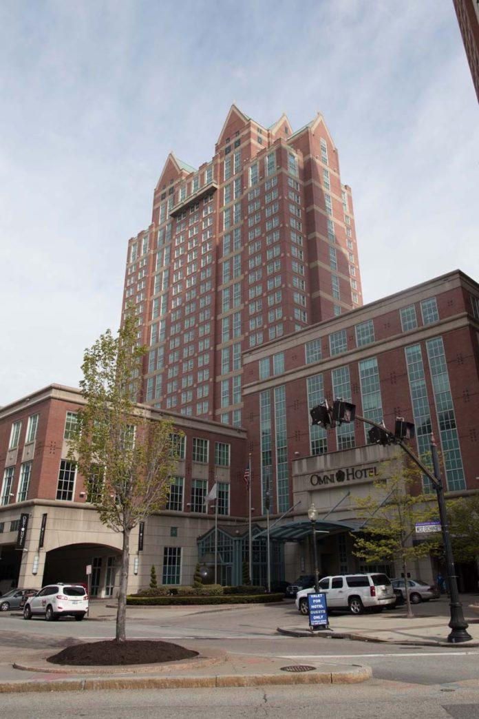 THE OMNI Providence Hotel on West Exchange Street was named a AAA Four Diamond Award winner, AAA Northeast said Thursday. / PBN FILE PHOTO/STEPHANIE EWENS