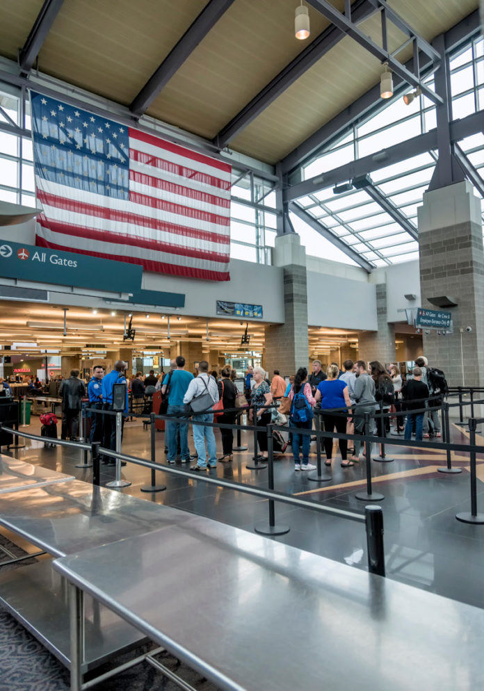 PASSENGER TRAFFIC numbers increased 3.3 year over year in May at T.F. Green Airport. / PBN FILE PHOTO/ MICHAEL SALERNO