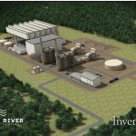 A RENDERING of the proposed natural gas-powered electrical plant in Burrillville. / COURTESY INVENERGY LLC