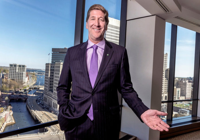CITIZENS FINANCIAL GROUP is led by Chairman and CEO Bruce Van Saun. / PBN FILE PHOTO/MICHAEL SALERNO
