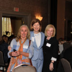 Bryant University Mary Moroney, Kati Machetley (panelist) and Betty Powers / Skorski Photography