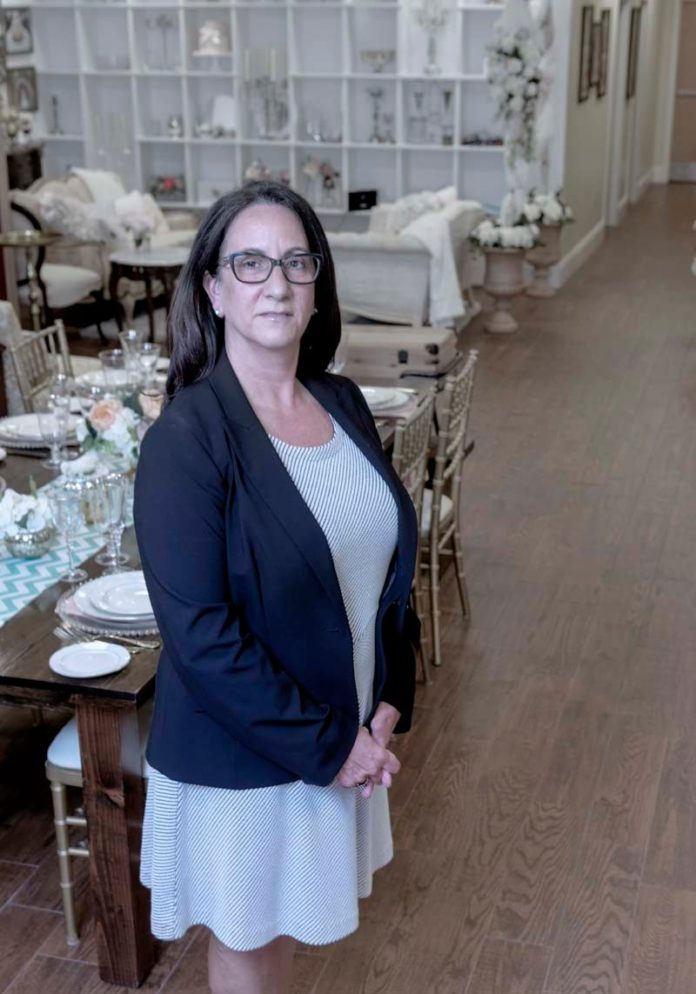 Pranzi Catering and Events founder Lisa Mattiello has grown her business from a small Seekonk storefront into a full-service catering, event planning and rental company by focusing on quality ingredients and never saying no to customers. / PBN PHOTO/MICHAEL SALERNO