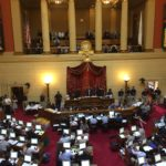 THE R.I. HOUSE OF REPRESENTATIVES debated the fiscal 2017 budget until late in the evening. It wasn't approved until early in the morning the following day. / PBN FILE PHOTO/ELI SHERMAN
