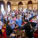 CAPITAL GAINS: There were 400 attendees for the Eat Drink RI 2015 Grand Tasting, at which more than 50 companies and restaurants showcased their culinary offerings. The event took place in the grand ballroom of the Providence Biltmore. / COURTESY EAT DRINK RI