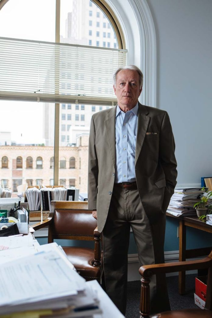 Before taking the reins of the Rhode Island Public Expenditure Council in 2008, John C. Simmons was the chief of administration for Providence, a job preceeded by a career in public service. / PBN PHOTO/RUPERT WHITELEY