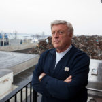 PATRICK T. CONLEY, , who assumed the presidency of the Heritage Harbor Museum in 2009, is leading the successor project, the Heritage Harbor Foundation, which will award grants to efforts concerning Rhode Island history. Here he stands at his Conley's Wharf building along Allens Avenue in Providence. / PBN FILE PHOTO/DAVID LEVESQUE