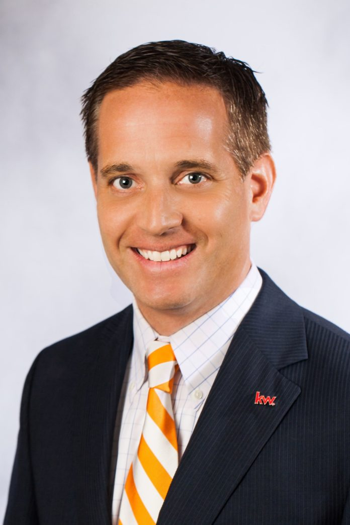 Connor Dowd is operating principal and principal broker for Keller Williams Newport and East Bay. / COURTESY KELLER WILLIAMS NEWPORT AND EAST BAY