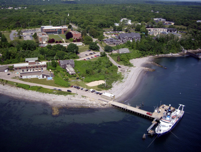 THE UNIVERSITY OF RHODE ISLAND'S Graduate School of Oceanography, based at the school's Bay Campus in Narragansett, is set to receive $300,000 over five years to supports its research efforts directed at the effects of climate change, among other things.  / COURTESY UNIVERSITY OF RHODE ISLAND