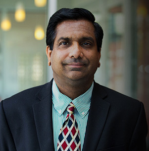 "ANUBHAV TRIPATHI is the inaugural executive academic director of Brown University's new Executive Master in Science and Technology Leadership program, one he hopes will prepare professionals ""to accelerate their careers, broaden their impact and propel their businesses forward."" / COURTESY BROWN UNIVERSITY"