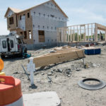WHILE HOME CONSTRUCTION in Rhode Island has been slow of late, there are pockets of new construction, including this development in North Kingstown. Across the country, housing construction continues its steady advance from the depths of the Great Recession. / PBN FILE PHOTO/MICHAEL SALERNO