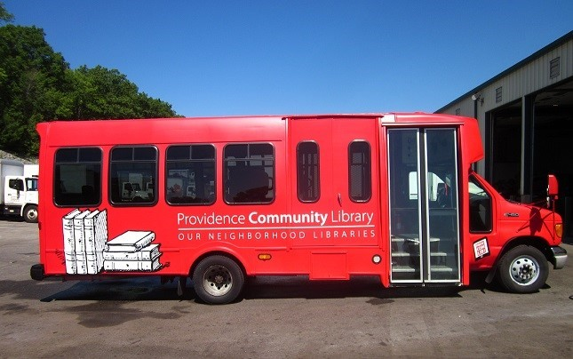 Providence Community Library will deliver summer reading opportunities to students who do not have access to regular library services over the school vacation months via its existing mobile library. / COURTESY PROVIDENCE COMMUNITY LIBRARY