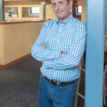 Pat Sabatino is the founder and CEO of Datarista, a Providence-based cloud computing startup. After attending Providence College in the early 1980s, he returned after an 18-year hiatus to be both a resident and an entrepreneur. / PBN PHOTO/MICHAEL SALERNO