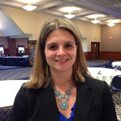 AMY GRZYBOWSKI has been named executive director of the new Westerly Higher Education and Industry Center. / COURTESY TWITTER