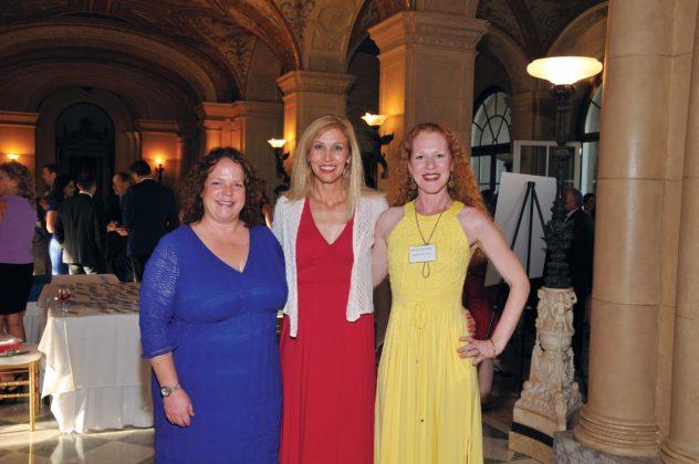Suzette Roberts and Suzanne Elsbecker, Cox with Bronwyn Dannenfelser Waterfire