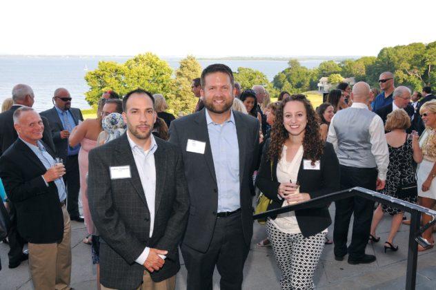 Anthony Mangiarelli,  KLR, Mike Ferri,  BlumShapiro and Jessica David,  RI Foundation
