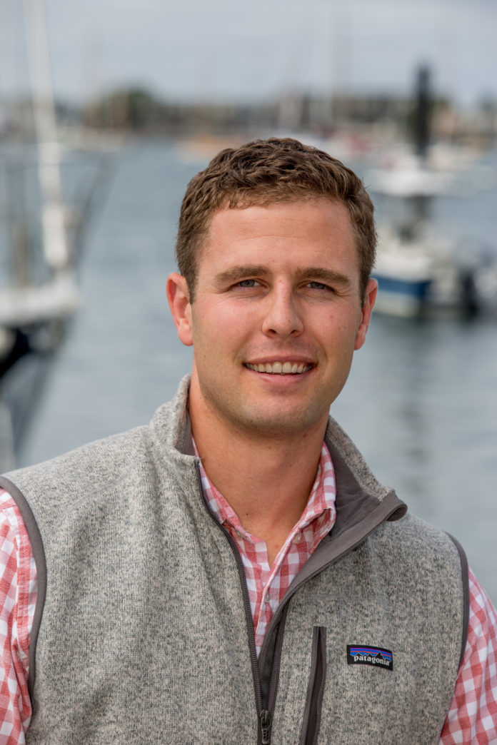 Michael Melillo is the founder and CEO of Dockwa Inc., a Newport-based tech startup that helps boaters research, plan and book cruising trips. / COURTESY DOCKWA