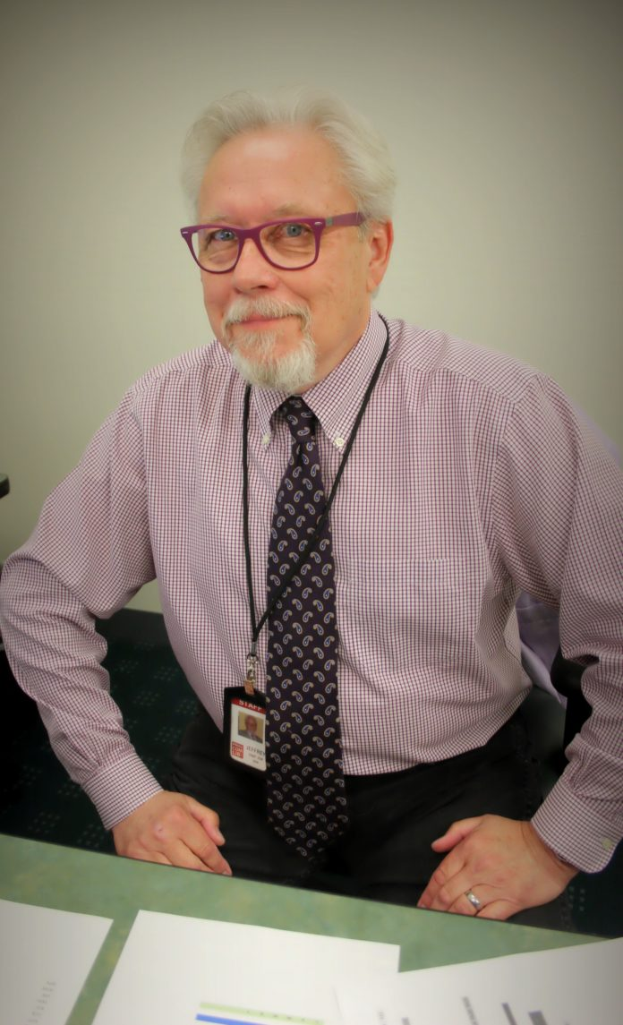 Jeffrey Cannell is the newly appointed director of Providence Community Library. / COURTESY DHANA WHITEING
