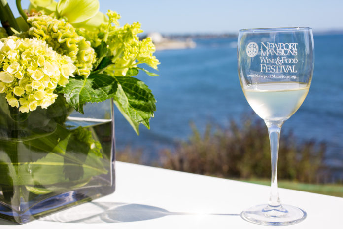 Tickets are now on sale for the 11th annual Newport Mansions Wine & Food Festival, which will be held on Thursday, Sept. 22, and run until Sunday, Sept. 25, to benefit The Preservation Society of Newport County. / COURTESY THE PRESERVATION SOCIETY OF NEWPORT COUNTY