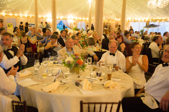 Blithewold Mansions, Garden and Arboretum's biannual grand tour gala, the organization's largest fundraising event, raised $180,000 in August.