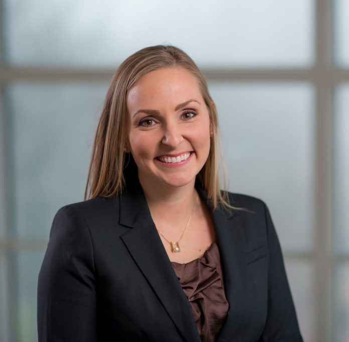 Kali St. Marie Thomas, of Brown University and the Providence VA Medical Center, has been named the 2016 recipient of the Carroll L. Estes Rising Star Award. / COURTESY PETER GOLDBERG