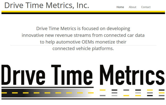 THE SLATER TECHNOLOGY FUND has participated in a $2.1 million seed round with a $250,000 investment in Drive Time Metrics, which is being led by Rod MacKenzie, who formerly worked for Aha Radio, XM Satellite and Land Rover.