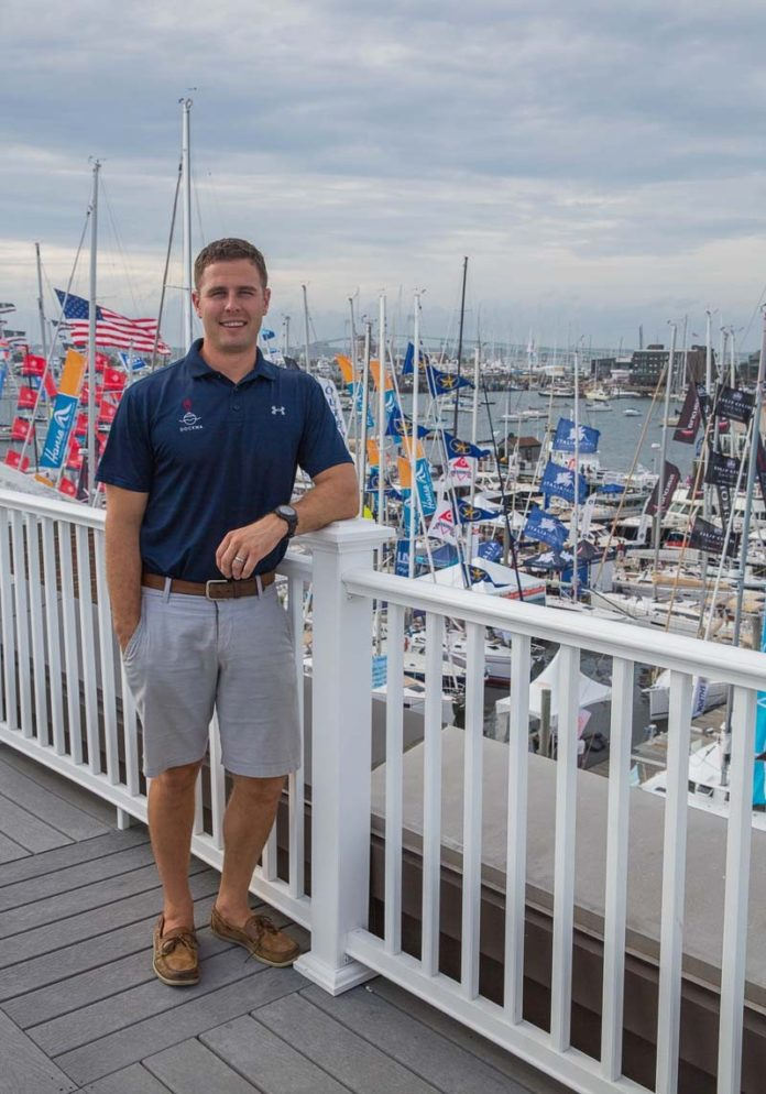Since Mike Melillo founded Dockwa in 2014, the Newport-based startup that helps boaters research, plan and book cruising trips has raised invested capital of about $3.5 million and has more than a dozen employees. / PBN PHOTO/TRACY JENKINS