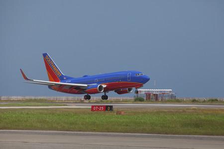 SOUTHWEST Airlines, the most popular carrier at T.F. Green Airport, will establish direct service to Ronald Reagan Washington National Airport in Washington D.C. in early November. / COURTESY SOUTHWEST AIRLINES