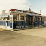 THE EXTERIOR of the Silver Top Diner, which was sold at auction for $35,000. / COURTESY RICHARD J.S. GUTMAN