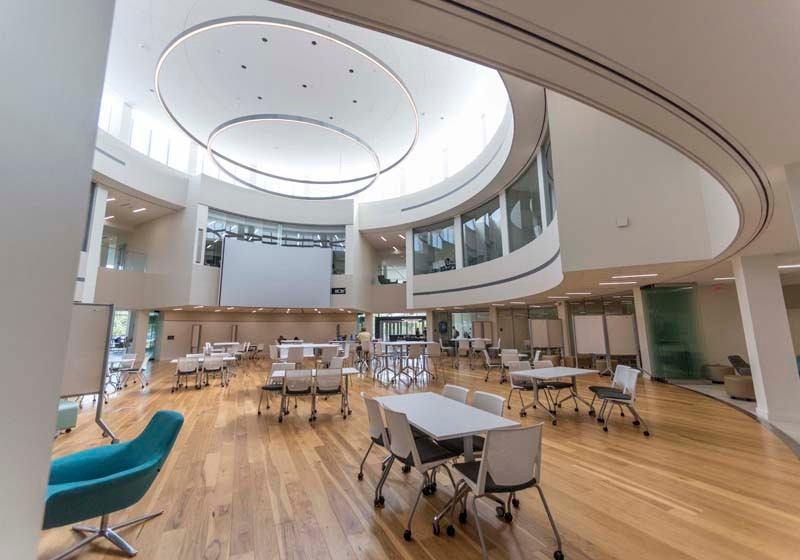Pictured Is The New Academic Innovation Center That Was Recently Constructed At Bryant University Rhode