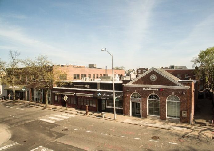 THIS commercial block on Angell Street in Wayland Square in Providence has been sold to Squaremed Associates LLC for $4.65 million. / COURTESY CAPSTONE PROPERTIES