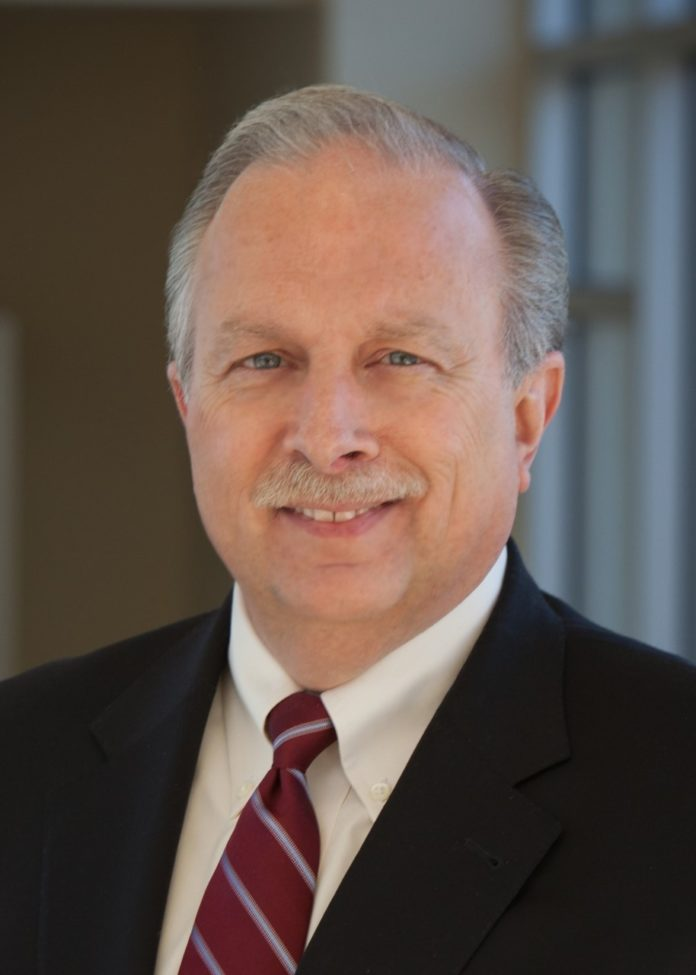 RICHARD R. CHAREST is retiring as president and CEO of Landmark Medical Center and the Rehabilitation Hospital of Rhode Island. / COURTESY LANDMARK MEDICAL CENTER