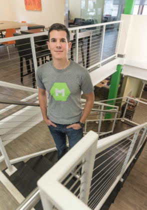 JOB CREATOR: MojoTech founder Nick Kishfy is proud to bring high-paying jobs to Rhode Island. He has grown the Providence-based web- and mobile-app development company, now with more than $7 million in revenue, to add three satellite offices throughout the United States. / PBN PHOTOS/ MICHAEL SALERNO
