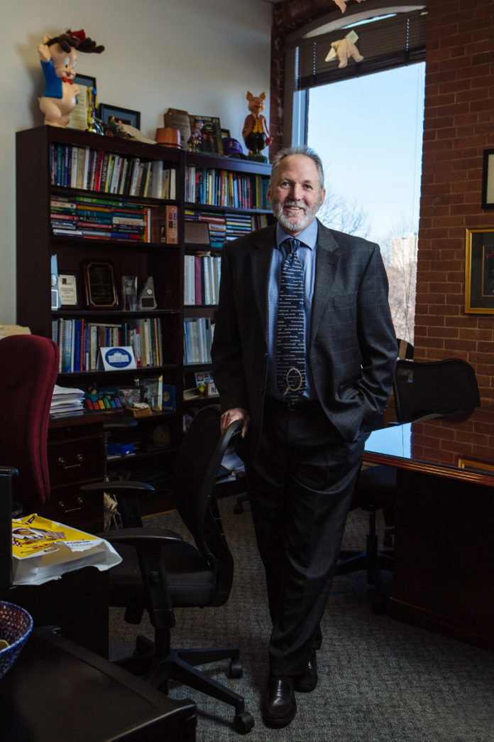 Dale K. Klatzker has been a leader in behavioral health care for more than 35 years. In addition to being TPC's president, Klatzker is the senior vice president of Ambulatory Behavioral Health at Care New England. / PBN PHOTO/RUPERT WHITELEY